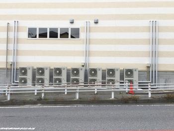 ドラッグストア新築工事 空調・換気設備工事