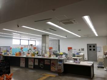 高滝郵便局模様替工事/空調・換気設備工事